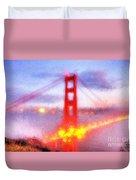 Golden Gate Bridge IIi Duvet Cover
