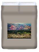 Golden Gate Bridge - Twin Peaks Duvet Cover