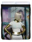 Golden Girl Duvet Cover