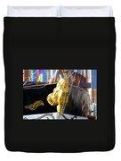 Golden Girl Of Gasparilla Duvet Cover