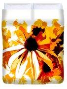 Golden Glow Of Summer Duvet Cover