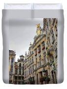 Golden Grand Place Duvet Cover