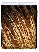 Golden Grass Duvet Cover