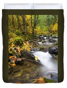 Golden Grove Duvet Cover by Mike  Dawson