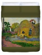 Golden Harvest Duvet Cover