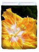 Golden Hibiscus - Hawaii Duvet Cover