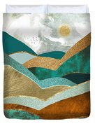 Golden Hills Duvet Cover