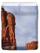 Golden Hoodoos Arches Np Duvet Cover