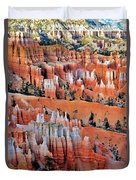 Golden Hour At Bryce Canyon 3 Duvet Cover