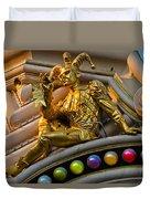 Golden Jester Duvet Cover