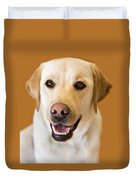 Golden Lab Duvet Cover