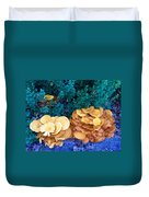 Golden Layer Duvet Cover