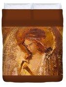 Golden Light Of Angel. Fragment Duvet Cover