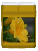 Golden Lily 18-2 Duvet Cover