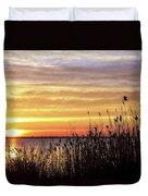 Golden Morning Duvet Cover