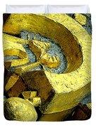 Golden Musselburgh IIi Duvet Cover