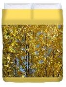 Golden October Duvet Cover