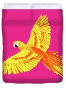 Golden Parrot Duvet Cover