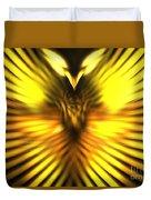 Golden Phoenix Duvet Cover