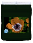 Golden Poppy Duvet Cover