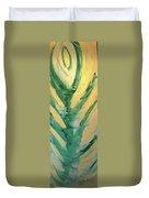Golden Rose Duvet Cover