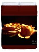 Golden Roses 5 Duvet Cover