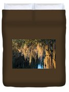 Golden Spanish Moss Duvet Cover