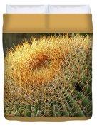 Golden Spines Duvet Cover