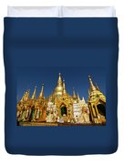 Golden Spires Duvet Cover