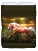 Golden Spirit Duvet Cover
