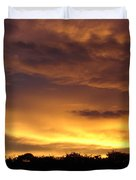 Golden Sunset 1 Duvet Cover