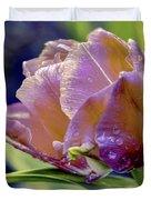 Golden Sunset Tulip Duvet Cover