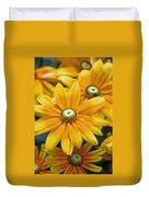 Golden Sunshine Duvet Cover