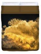 Golden Thunderhead Duvet Cover