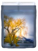 Golden Time Duvet Cover
