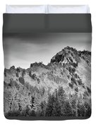 Golden Trail Crater Lake Rim Duvet Cover