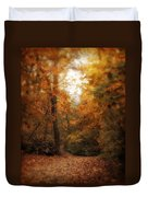 Golden Trail Duvet Cover