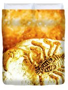 Golden Treasures Duvet Cover