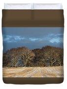 Golden Trees Duvet Cover