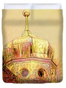 Golden Turret Duvet Cover