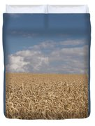 Golden Wheat Field Duvet Cover