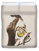 Golden-winged Woodpecker Duvet Cover