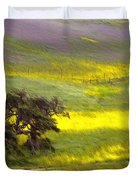 Goldenrod Oak Santa Ynez California 2 Duvet Cover