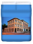 Goldfield Consolidated Mines Building Duvet Cover