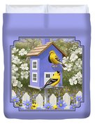 Goldfinch Garden Home Duvet Cover