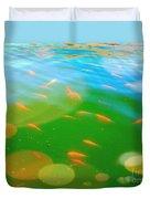 Goldfishes Duvet Cover