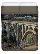 Goleta Hwy 101 Bridge Duvet Cover