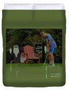 Golf Art 3 Duvet Cover