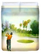 Golf At The Blue Monster In Doral Florida 02 Duvet Cover