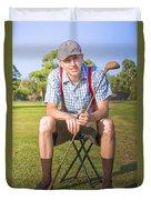 Golf Club Pro Duvet Cover